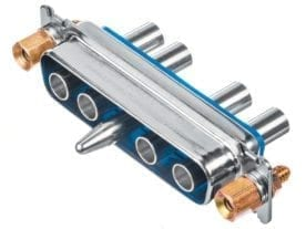 Positronic Fiber optic D Sub Connector