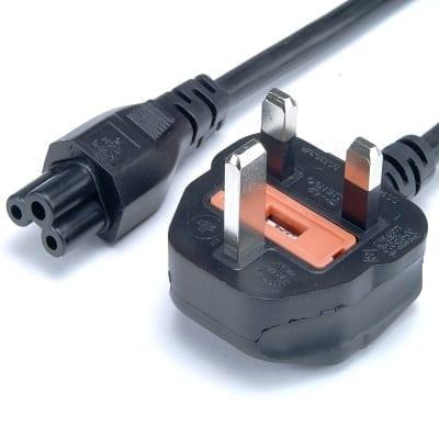 UK Plug to IEC C5