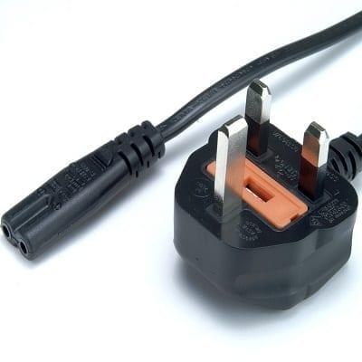 UK Plug to Fig 8 C7