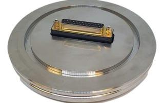 Custom vacuum flange
