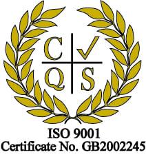 ISO 9001 Certificate For Jacarem